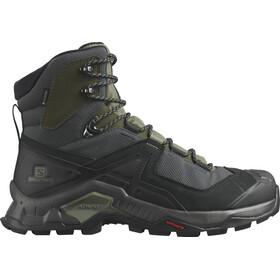 Salomon Quest Element GTX Shoes Men, zwart/olijf